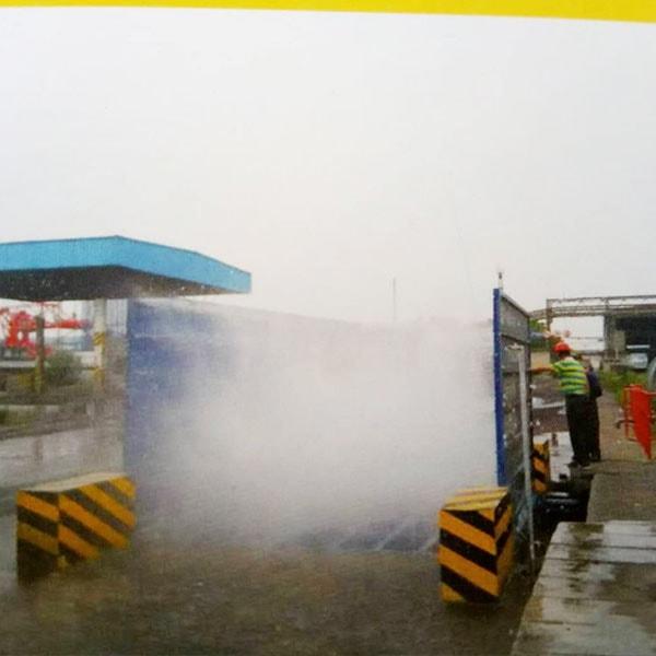 煤厂洗车机平煤电厂项目现场