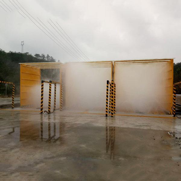 建筑工地洗车机湖北山矿石项目
