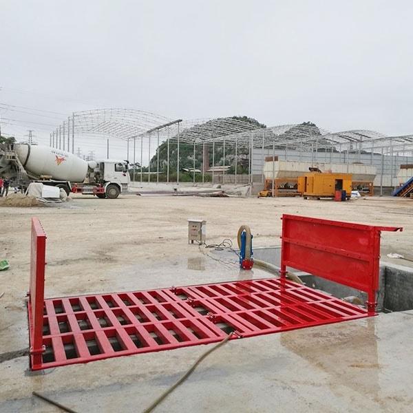 自动洗车机北京城建集团施工现场